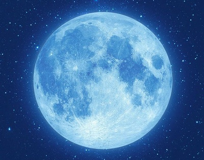 A Blue Moon occurs when two full moons occur within the same month.
