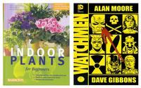 Brandon is currently reading Anja Flehmig's <i>Indoor Plants for Beginners</i> and re-reading the graphc novel, <i>Watchmen</i>, by Alan Moore and Dave Gibbons.