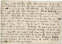 Charles Dickens. Portion of original manuscript of Nicholas Nickleby, 1837. Benoliel Gift.