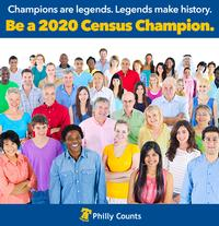 Be a 2020 Census Champion! Attend a Census Job Fair at a neighborhood library near you!