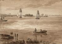 Augustus Kollner's 1841 watercolor