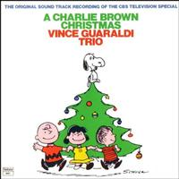 A Charlie Brown Christmas soundtrack performed by Vince Guaraldi Trio