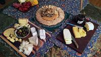 Beautifully crafted cheese plates
