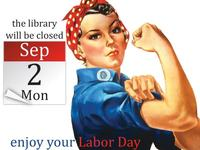 Free Library will be closed Sept 2 in observance of Labor Day