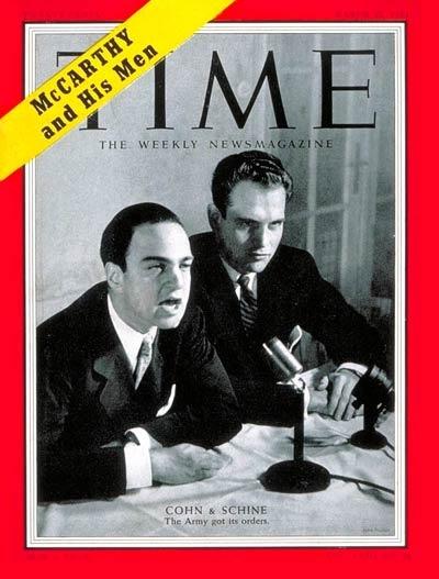 Roy Cohn and G. David Schine