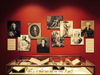 Critical Editions case with Shakespeare's early editors, William B. Dietrich Gallery