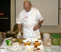 Chef Pernot Demonstrates His Skills