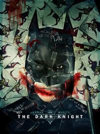 The Dark Knight movie poster, 2008