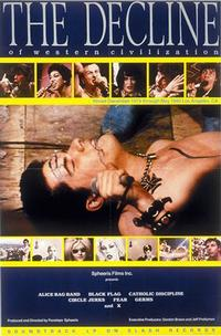 The Decline of Western Civilization theatrical poster