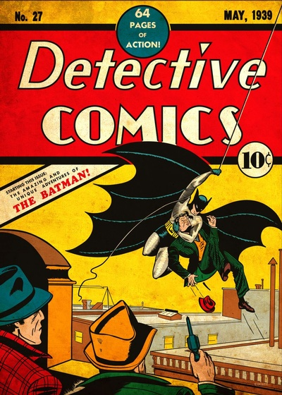 Batman debuted in Detective Comics #27, published in May 1939.