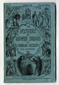 Monthly Part Cover of Charles Dickens. The Mystery of Edwin Drood. London: Chapman & Hall, 1870.