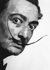 Salvador Dali, Spanish Surrealist Painter.