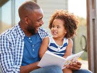 This Father's Day, cozy up and share a good book together!