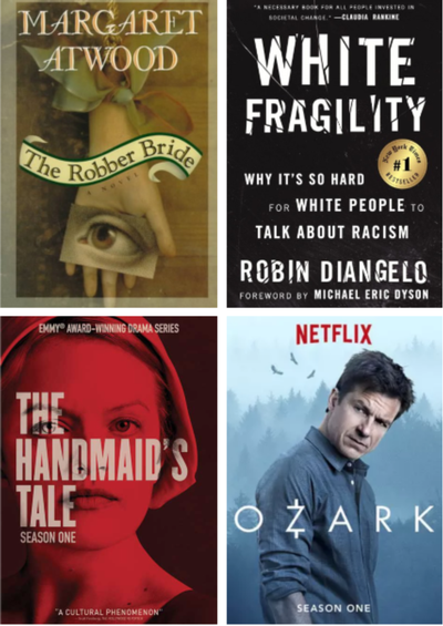 Currently on Debi's reading and watching list...