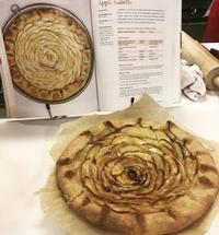 Rose joined the Culinary Literacy Center for a cookbook event last month and made the galette!