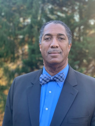 Dr. Guy Sims, the Free Library's Chief Diversity and Inclusion Officer
