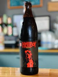 Oregon's Gigantic Brewing created a special pancake and maple syrup-flavored beer to celebrate Hellboy's 25th.