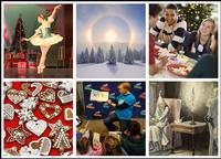 Experience a flurry of fun and free winter and holiday themed events and programs happening throughout the month of December at a neighborhood libary near you!