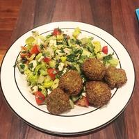 Do you have dried chickpeas at home? Make some falafel using our Edible Alphabet classroom recipe.