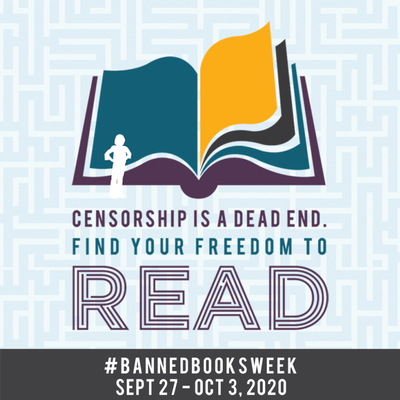 Celebrate your freedom to read during #BannedBooksWeek!