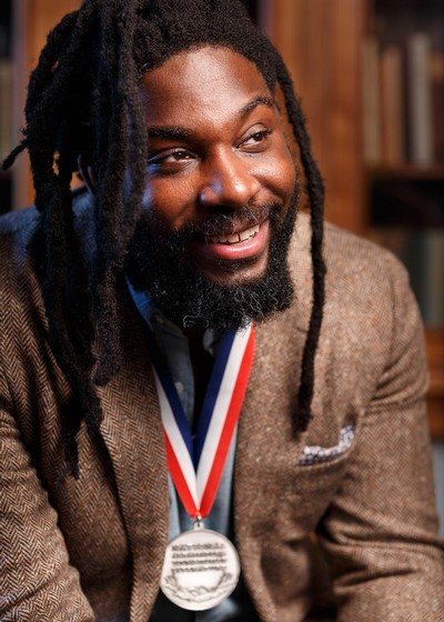 Author Jason Reynolds