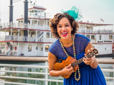 Don't miss Jazzy Ash for this interactive concert featuring African American folk songs on Thursday, August 11.