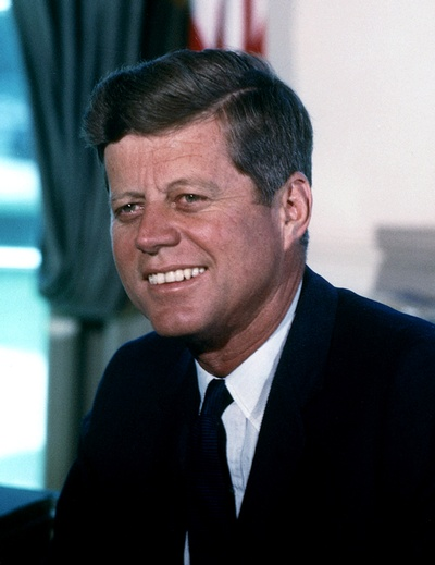 John F. Kennedy, 35th president of the United States
