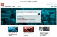 JSTOR interface