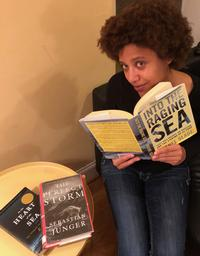 The author opening up: Why she enjoys reading her catch of maritime disasters.