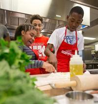 Involving youth of all ages in the kitchen is a great way to help open up young minds to new foods!