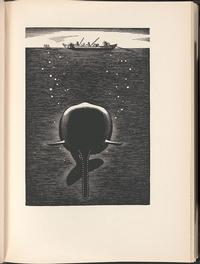 <i>Moby Dick, or, The whale</i>, volume 3, page 77, from our Rare Book Department.