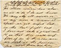Letters from the Civil War era are one of the primary ways we know about what people endured.