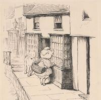 One of the original illustrations in our Beatrix Potter collection, from