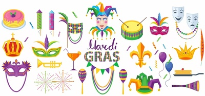 The Culinary Literacy Center is here to help you celebrate with some Mardi Gras-inspired recipes and library resources to lift your spirits!