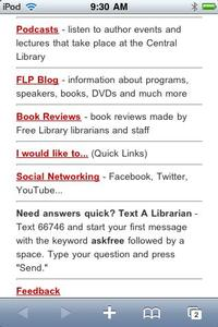 Our podcasts, blog, and book reviews will keep you up to date with Free Library news.