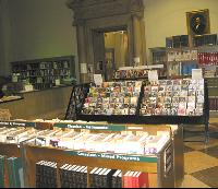 A view inside the Music Department