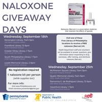 Naloxone Giveaway Days - English