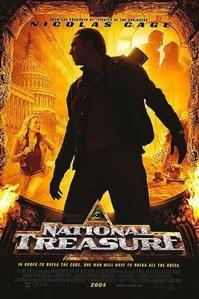 <i>National Treasure</i> movie poster