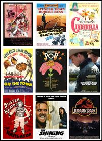 Posters from some of this year's National Film Registry selections