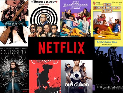 Netflix is adapting these stories and characters into series and films this July!