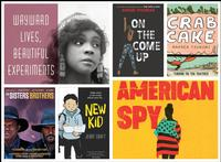 Just some of the new titles available at a neighborhood library near you in February!