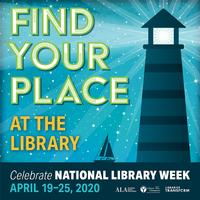 National Library Week is April 19-25!