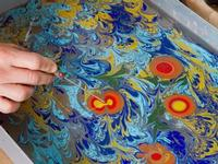The ancient art of ebru,