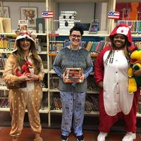 Pajama storytime in Parkway Central Children's Department