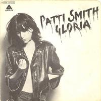 Patti Smith - Gloria 1977 Italian 45 single cover
