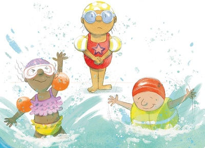 Have fun reading (and later splashing in the water!)