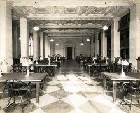 Philbrick Popular Library as the Periodical Room