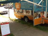 Our Free Library Techmobile on 51st Street
