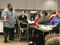 Food writer Michael Twitty at the Culinary Literacy Center