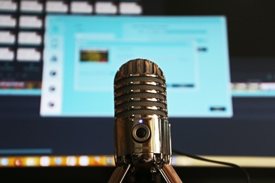 Join Ms. Chelsea on Monday, August 24 to talk about various podcasts.